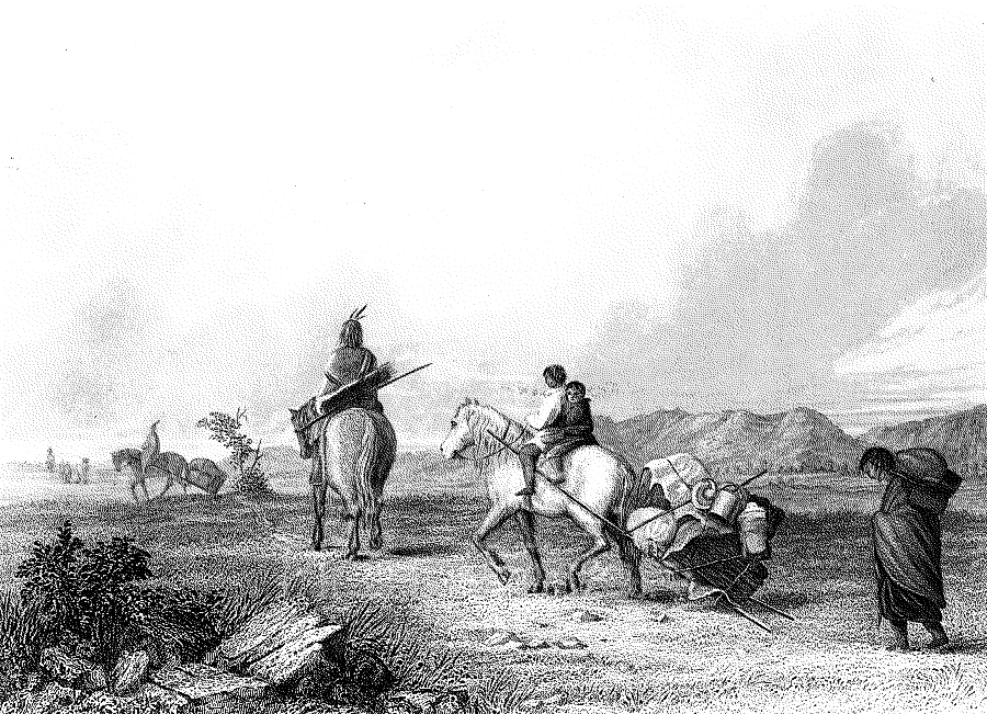 ... _History/Native_Americans/travel/Indians_Travelling_halftone.png.html