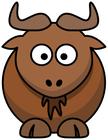 ANIMALS / G / GNU - Public Domain clip art at WPClipart ...