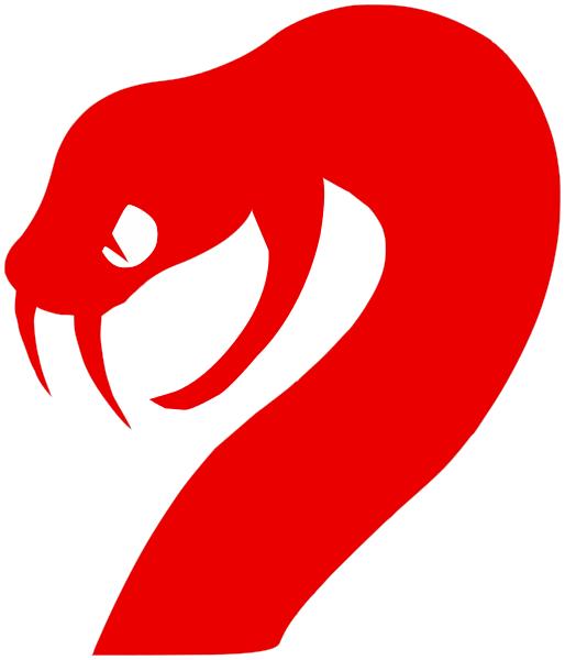 Red viper snake logo - photo#7