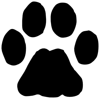 bobcat track   animals  tracks  bobcat track png html bobcat clipart black and white bobcat clipart logo