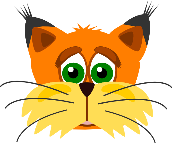 lynx sad   animals  wild cats  lynx  lynx sad png html cat clipart funny cats clipart etc
