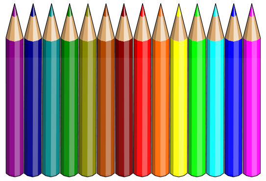 coloured writing paper