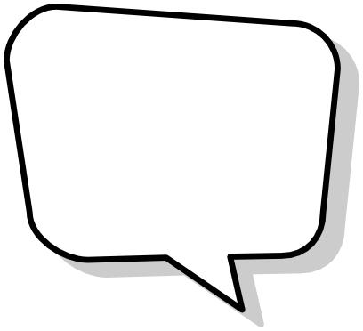 Blank Speech Bubble Shadow Blanks Callouts Comic