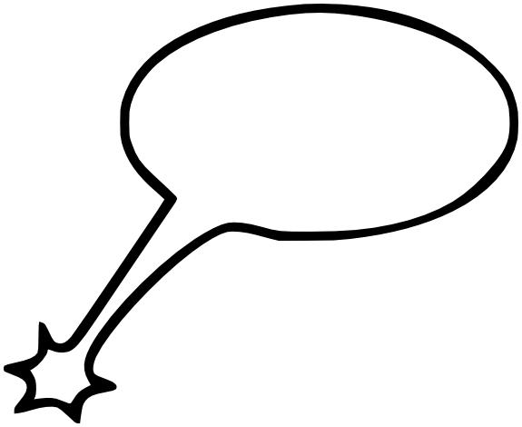 White Speech Bubble Png