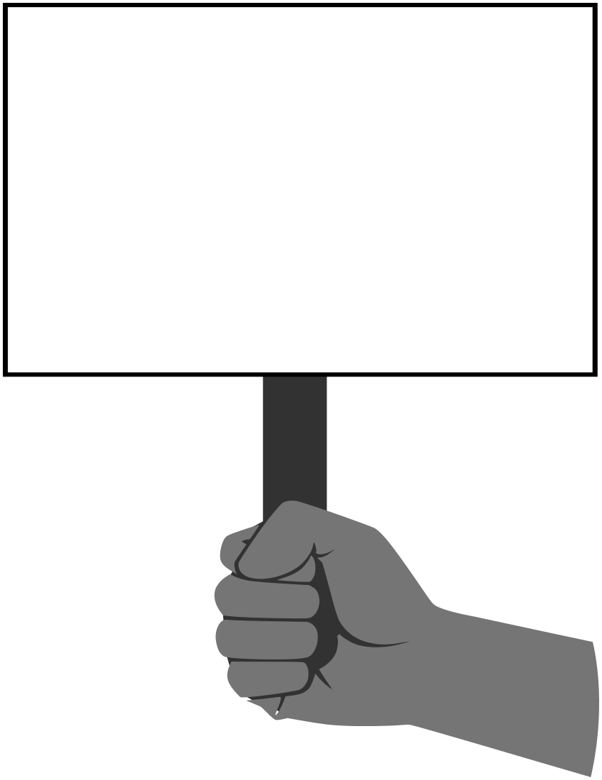 blank hand sign png - photo #4