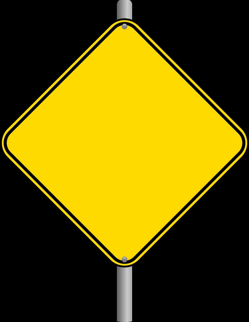 blank warning sign page blanksroadsignsblankwarning