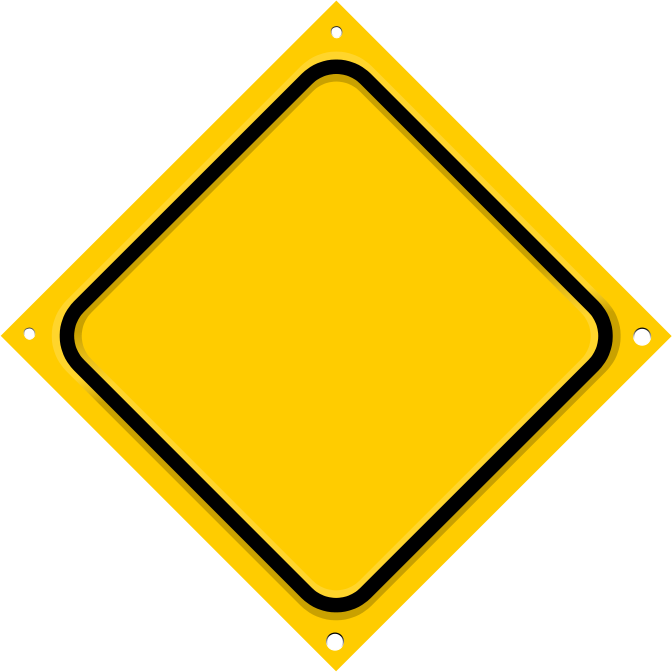 road sign diagonal blank - /blanks/road_signs/road_sign ...
