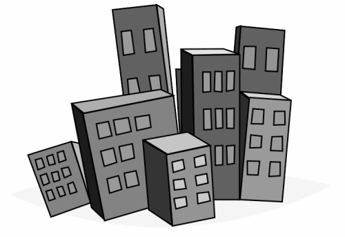 city buildings clipart - photo #35