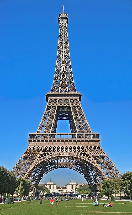 Eiffel Tower Picture Buildings Famous Eiffel Tower