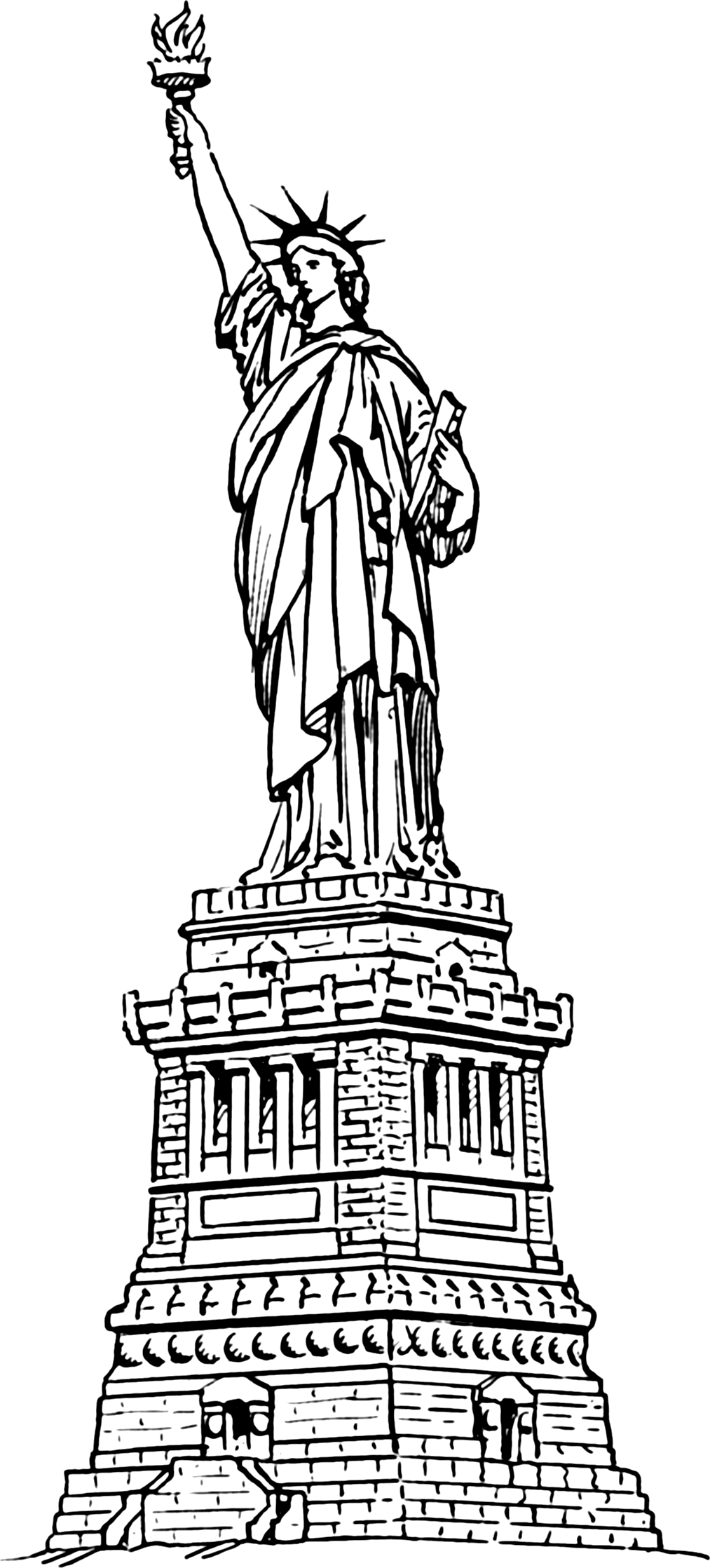 Statue Of Liberty Clipart Png