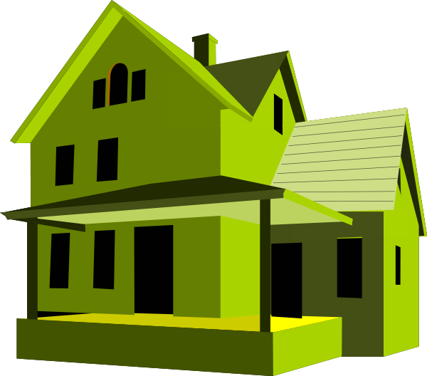 Greene and greene houses - House Green Buildings Homes Homes 3 House Green Png Html