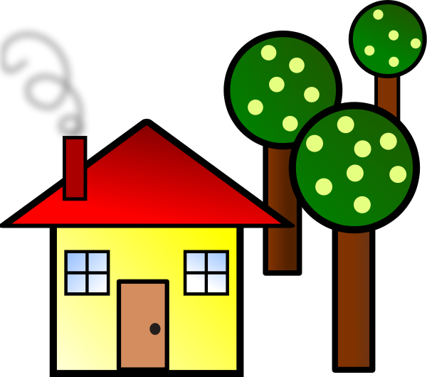 brick house clipart. rick house clipart. House Clip Art and Graphics