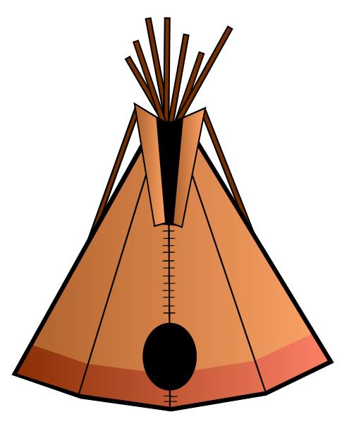 Free Printable Native American Clip Art
