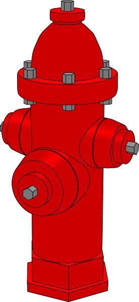 fire hydrant   public domain clip art image