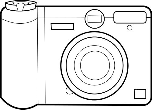 Line Drawing Camera : Camera lineart more cameras