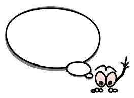 Cartoons cartoon speech bubble 2 a public domain image