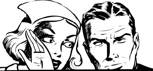 telling a secret - http://www.wpclipart.com/cartoon/assorted ...