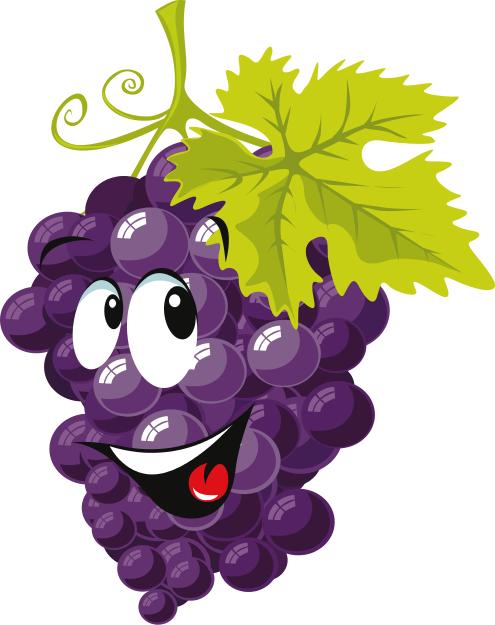 cartoon grapes   cartoon  food  cartoon grapes png html clip art grapes black and white clip art grapes border