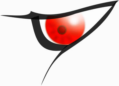 Cartoon Eye clip art evil eye