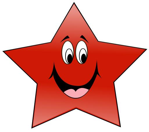 happy star clip art - photo #12