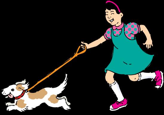 clipart dog walking. clip art person walking.