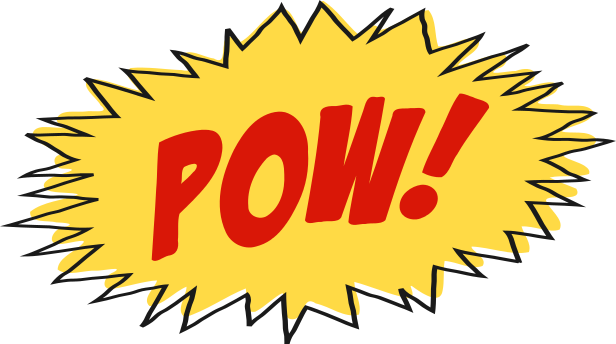 POW cartoon sound effect