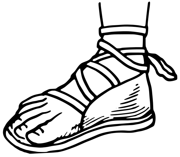 Jesus Shoe Size