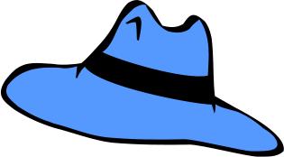 adventure hat blue   clothes  hats  adventure hat  adventure Clip Art.com Clip Art Best
