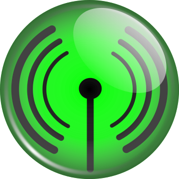 glassy WiFi symbol - /computer/hardware/networking/glassy_WiFi_symbol ...
