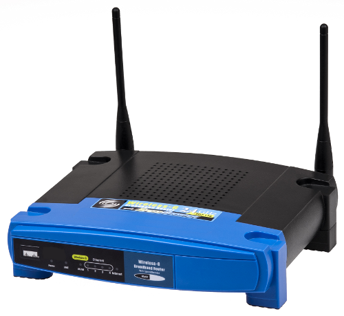 Networking wireless routers .