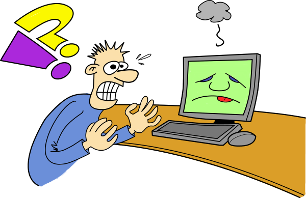 Computer Frustration Clipart Images & Pictures - Becuo
