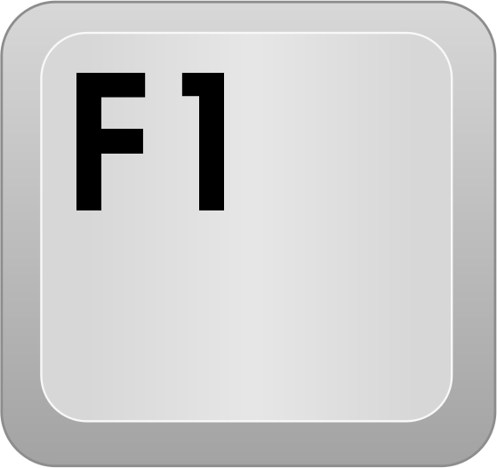 how to make mac function key to be f1