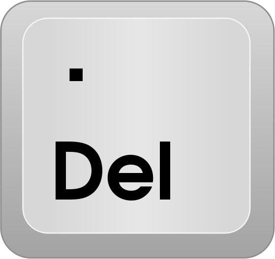 Descifra el jeroglifico - Página 3 Computer_key_Del