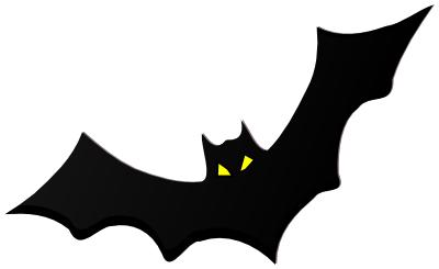 Scary bat yellow eyes animals b bat bat clip art scary - Scary yellow eyes ...