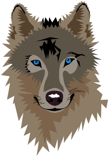 Animated Wolf Coloring Pages