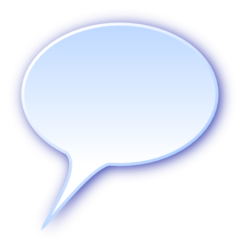3d Rounded Speech Bubble Blanks Callouts 3d 3d Rounded
