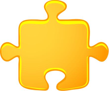 yellow jigsaw piece   blanks  jigsaw  yellow jigsaw piece puzzle clip art images puzzle clip art for teachers