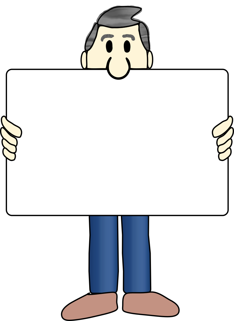 Man with Sign - /blanks/people_w_signs/Man_with_Sign.png.html