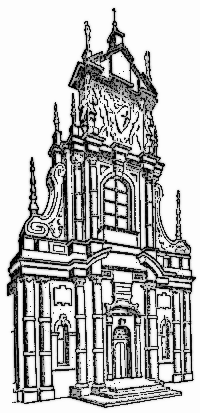 Baroque Buildings Architecture Baroque Png Html