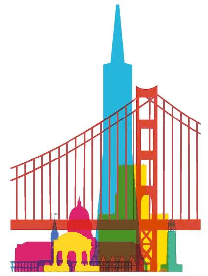 San Francisco Buildings Famous Us Famous Us Famous 2