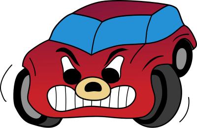 Car Red Angry Cartoon Assorted More Cartoons Car Red