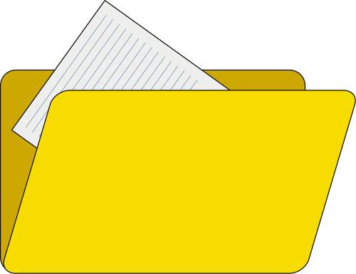 yellow file folder   computer  icons  folders  yellow file clip art icon people clip art icons free