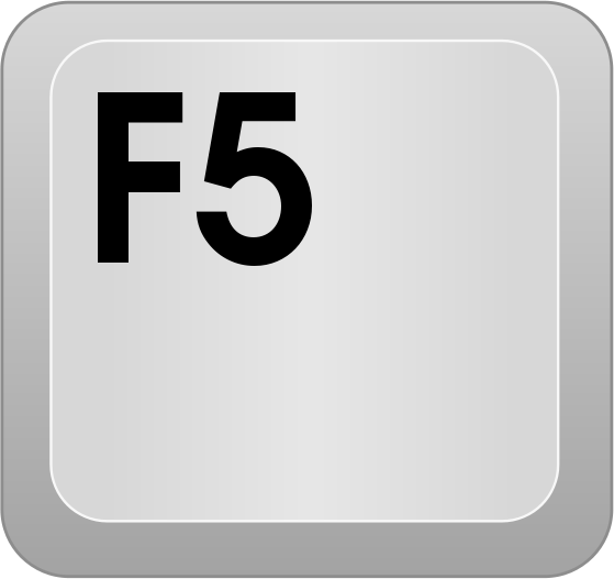 computer key F5 - /computer/keyboard_keys/function_key_row/computer ...
