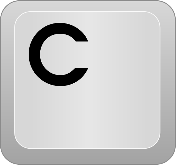 Computer key c computer keyboard_keys letters computer_key_c png html