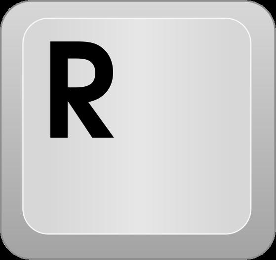 computer key R - /computer/keyboard_keys/letters/computer_key_R.png ...