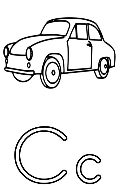 c is for car   education  alphabet  c is for car png html letter a clip art images letter a clipart black and white