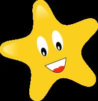 happy star clip art - photo #24