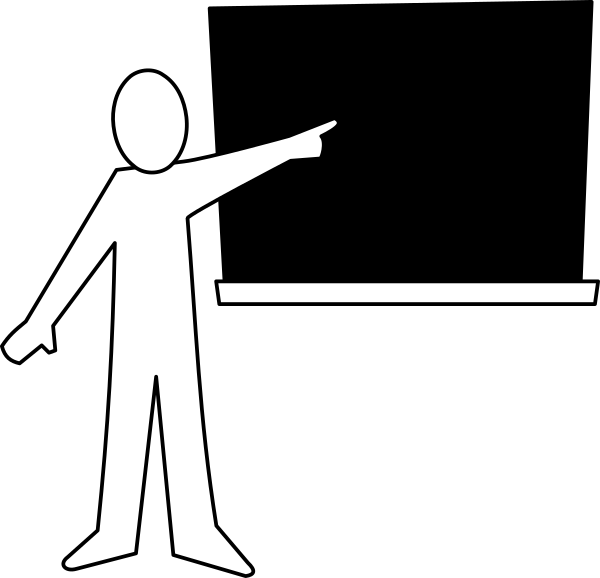 blackboard pointing   education  chalkboard  teacher chalkboard clipart designs chalkboard clipart black and white