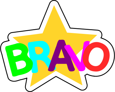 Bravo Education Encouraging Words Bravo Png Html