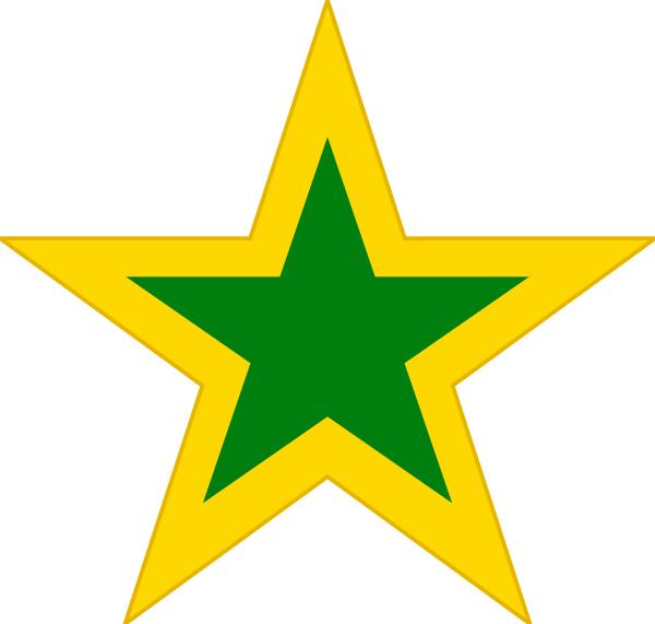 gold green star - /education/gold_stars/gold_stars_2/gold_green_star ...